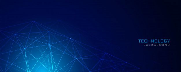 Download Abstract Blue Network Wire Mesh Technology Background For