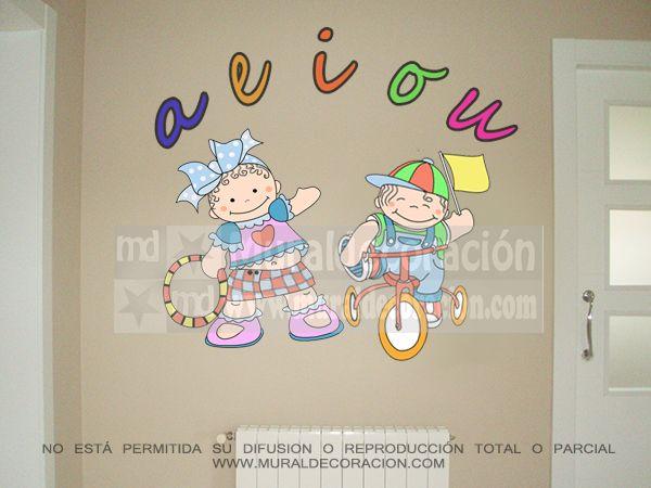 #muralesinfantiles, #decoracionmural, #decoracionbebe, #muralesmadrid,#decoracion,#dormitoriosinfantiles,Murales infantiles para bebé 150 euros www.muraldecoracion.com telf:664115368