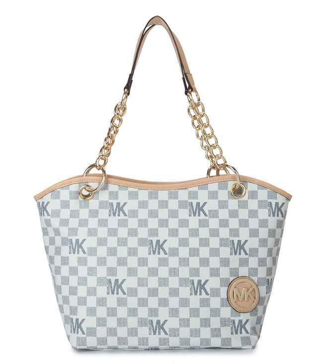 Jet Set Tote Yellow and White For Sale -michaels kors handbags on sale