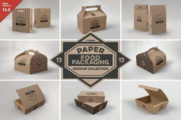 Download Vol 3 Food Box Packaging Mockups In 2020 Food Box Packaging Packaging Mockup Free Packaging Mockup