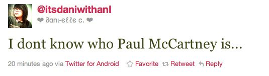 """""""Who TF is Paul McCartney?"""" and dozens of other tweets of young viewers with no clue during the Grammy Awards..."""