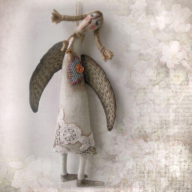 Ангел-хранитель. Куклы Ольги Турченко