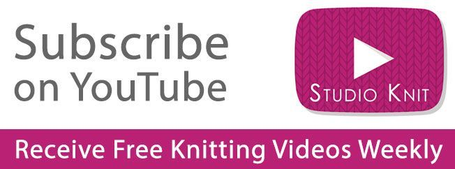 Studio Knit Subscribe YouTube