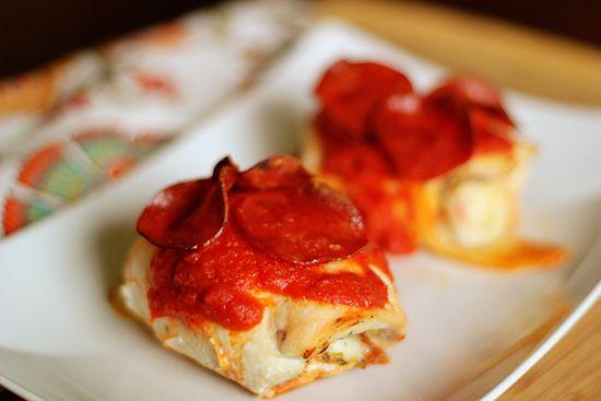 Pizza Stuffed Chicken Breasts 180cal/8pp per chicken breast