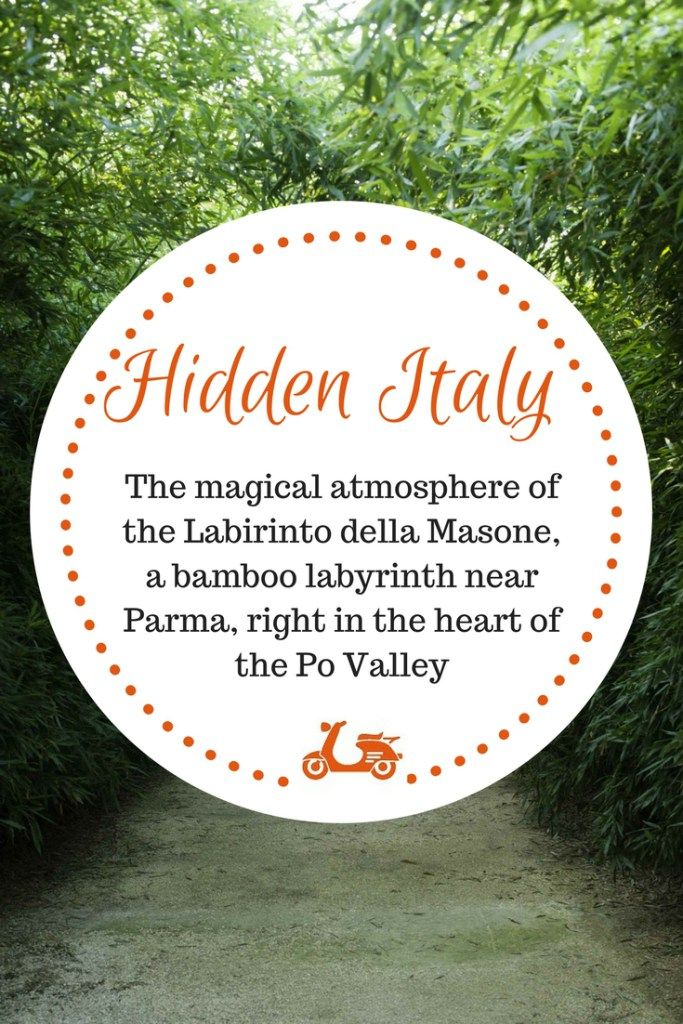 Tucked in the heart of the Po Valley, near Parma, there's a very magical place: it's the Labirinto della Masone, a bamboo labyrinth which claims to be the largest in the world. Today I am taking you there: check the post on the blog.