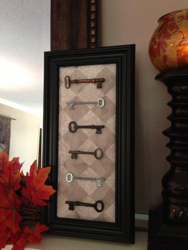 12 Best Decorating With Old Keys Images On Pinterest Old