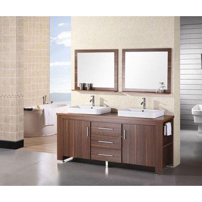 "Washington 72"" Double Sink Vanity Set for Sale | Wayfair.  $1171 retail sale."