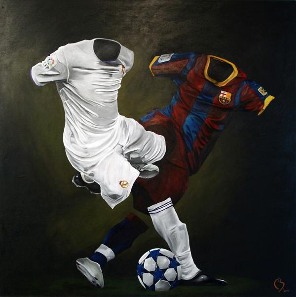 El Clasico. Real Madrid v Barcelona.