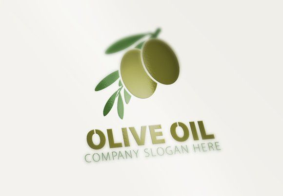 Olive Oil Logo by eSSeGraphic on @creativemarket