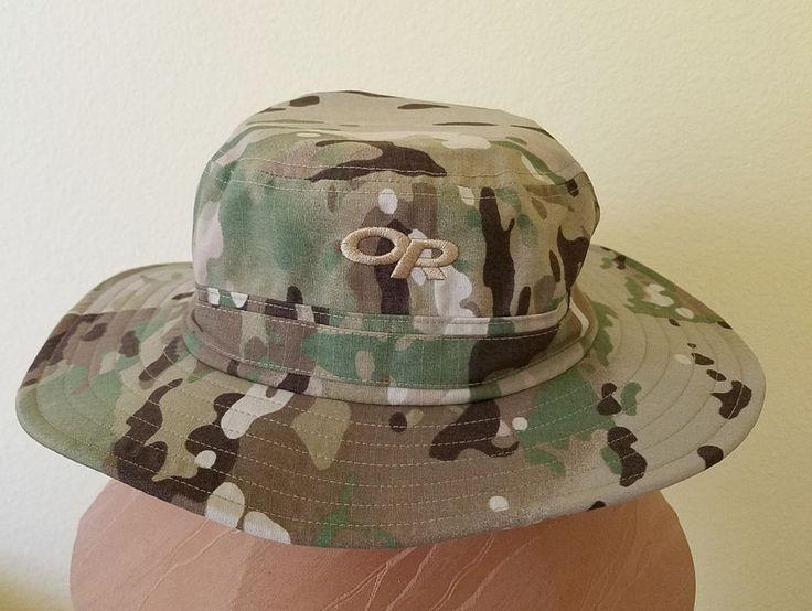 Outdoor Research OR Mens Camo Sombrero Safari Hat XL #OutdoorResearch #OutbackHat