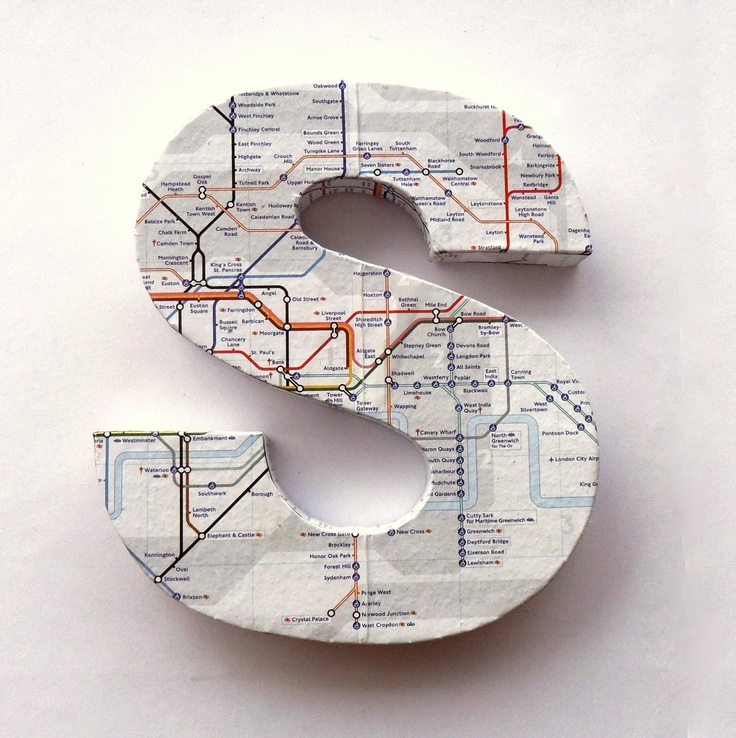 London Underground Tube Map Door Sign Mounted