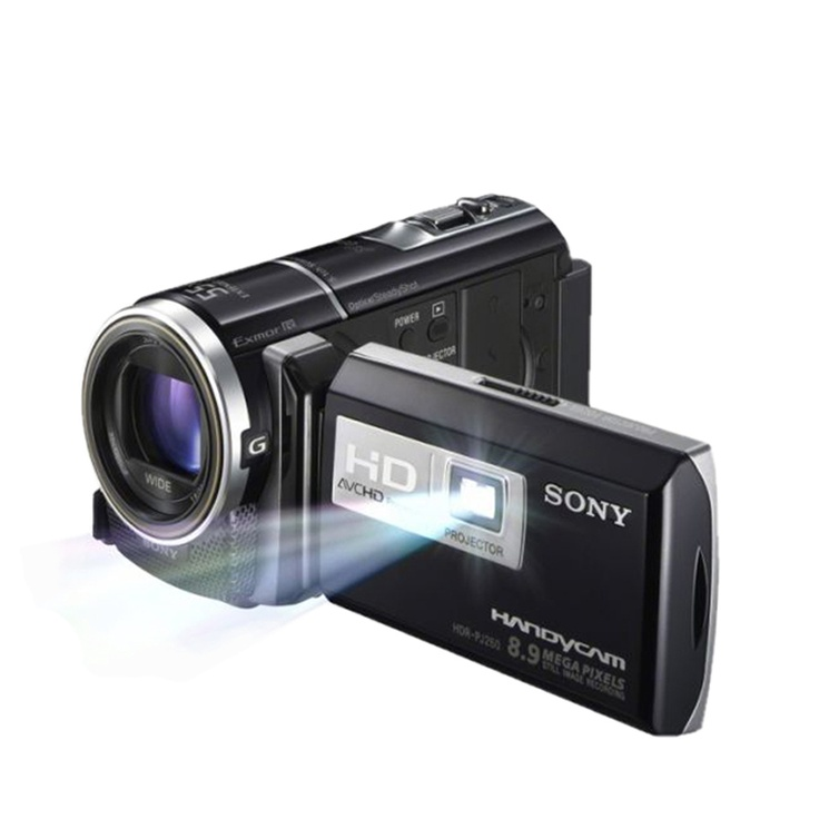 SONY  Digital Camera (HDR-PJ260)  Click superior videos and images with the digital camera which has a resolution of 8.9 megapixels. The 30x optical zoom makes capturing images at a distance very easy. You can get a sharp, high quality preview of the images and videos with its 3-inch Clear Photo LCD display.