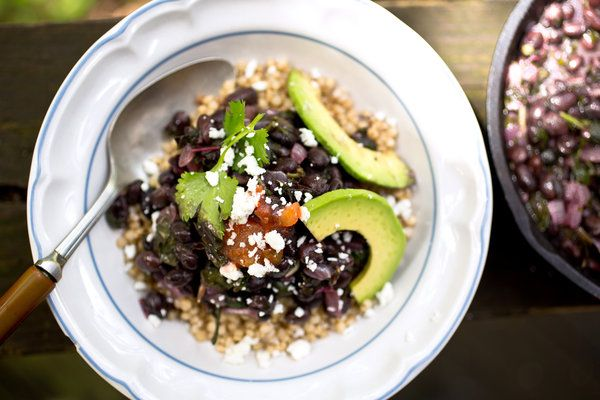 Sorghum Bowl With Black Beans, Amaranth and Avocado — Recipes for Health - NYTimes.comSorghum Bowls, Black Beans, Summer Recipe, Vegetarian Recipe, Avocado Recipe, Gluten Free, New York Time, Healthy Recipes, Mr. Beans