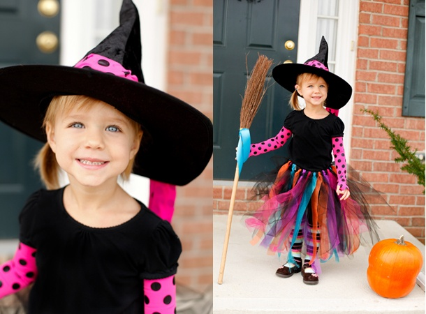 cuter than the witch she was this year maybe if she wants to be a cute girl halloween - Cute Ideas For Halloween