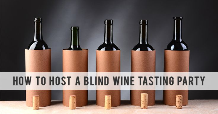 How To Host A Blind Wine Tasting Party Gift Exchange