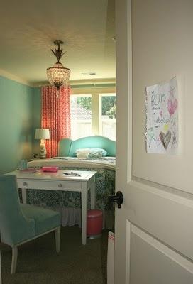 Exceptional Beautiful Aqua Bedroom