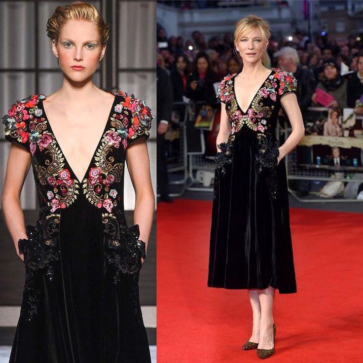 Cate Blanchett in Schiaparelli Couture fall 2015