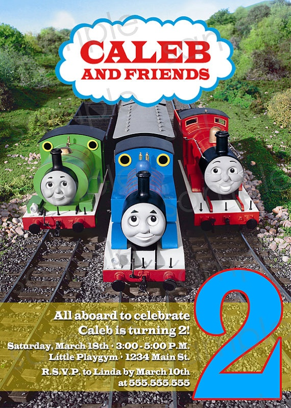48 best Thomas the train party images on Pinterest Train party