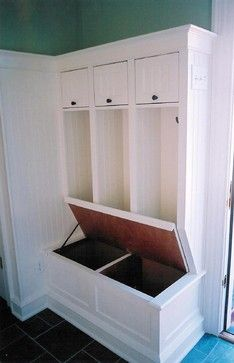 Entry Bench Design Ideas, Pictures, Remodel, and Decor - page 4