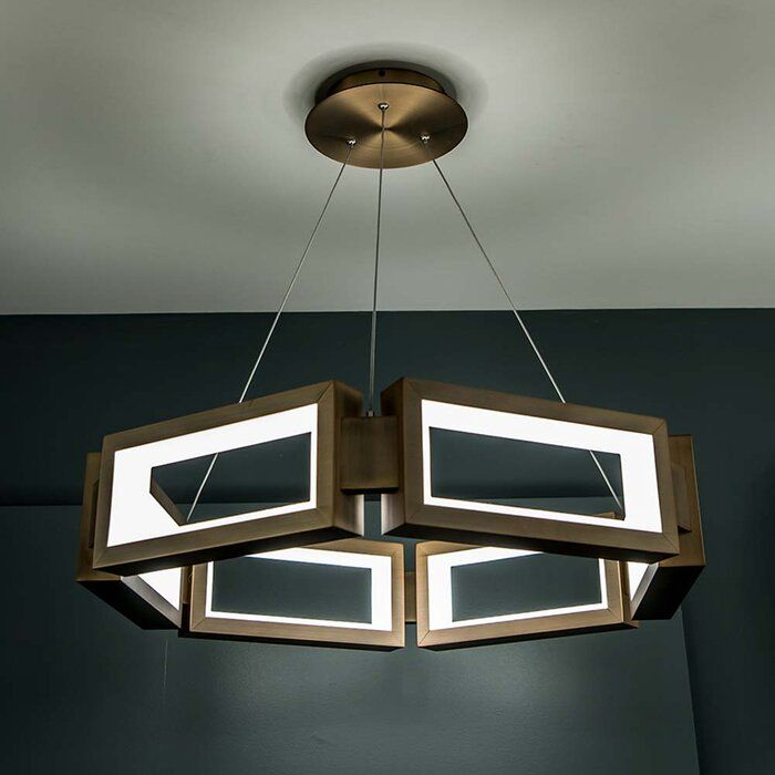 Mies 1-Light Novelty Chandelier