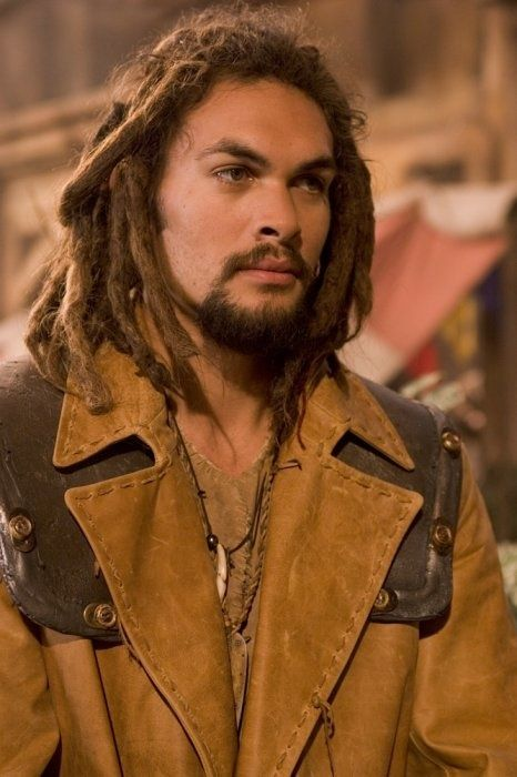 Jason Momoa as Ronon Dex on Stargate Atlantis