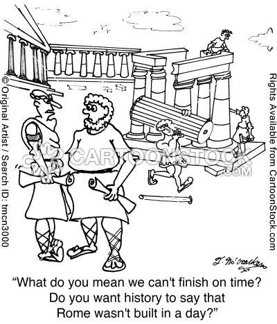 Ancient Roman cartoons, Ancient Roman cartoon, funny