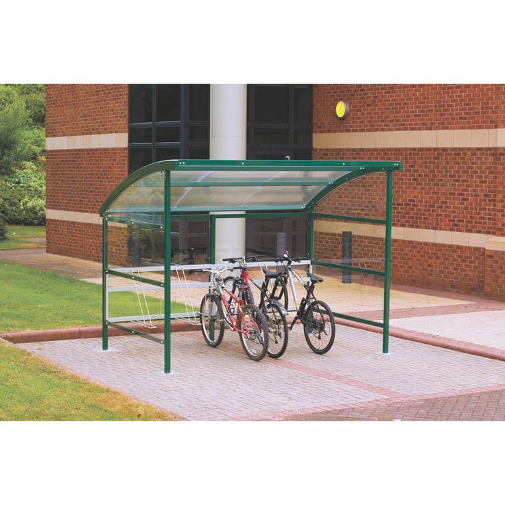 Model SC223021X Premier #Cycle #Shelter Choice of clear #perspex or #powder #coated #steel panels Premier #shelters come complete with integral cycle #rack #Adjustable feet for on-site positioning Parabolts for surface mounting to concrete included Must be bolted to 250mm thick concrete for stability Shelter height - 2250mm Available in different colours See more at: http://shop.hsil.co.uk/p-3965-premier-cycle-shelters.aspx#sthash.xTw73yrB.dpuf