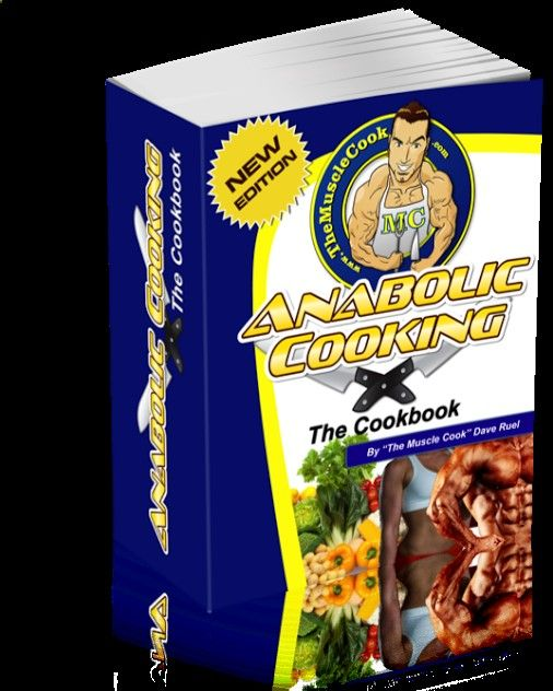 Anabolic Cooking - the Complete Nutrition Guide for Fitness  Bodybuilding! Click the image and you will find the link on the next page.