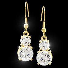 Woman's Earrings Pampered & Polished- Fifth Avenue Collection