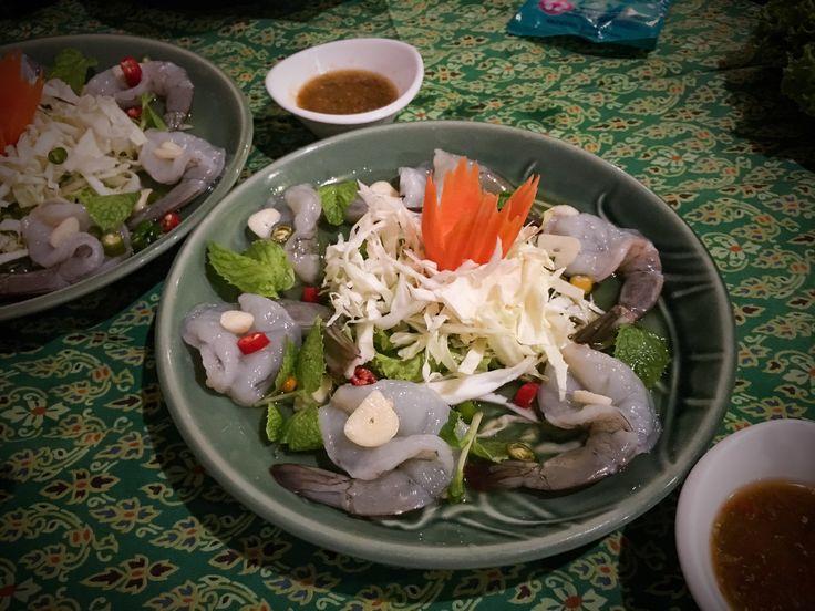 Thai Raw Prawns, Once Upon A Time @ Bangkok