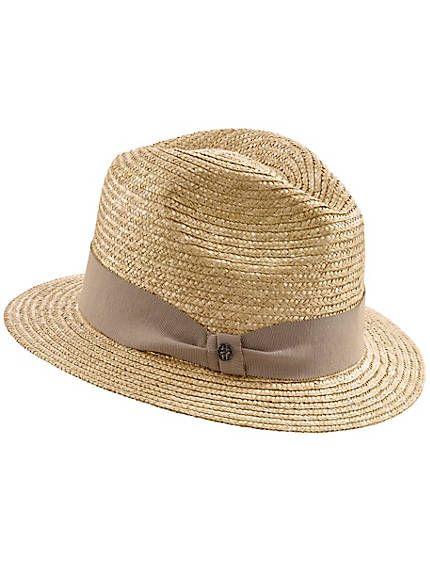 Hut aus hochwertigem Stroh
