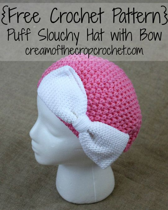 64 best Crochet Hat Patterns images on Pinterest | Sombreros de ...