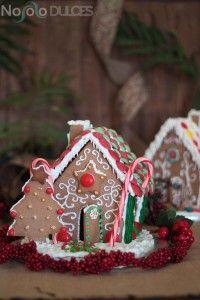 Receta de casitas de jengibre perfecta para decorar con niños en Navidad