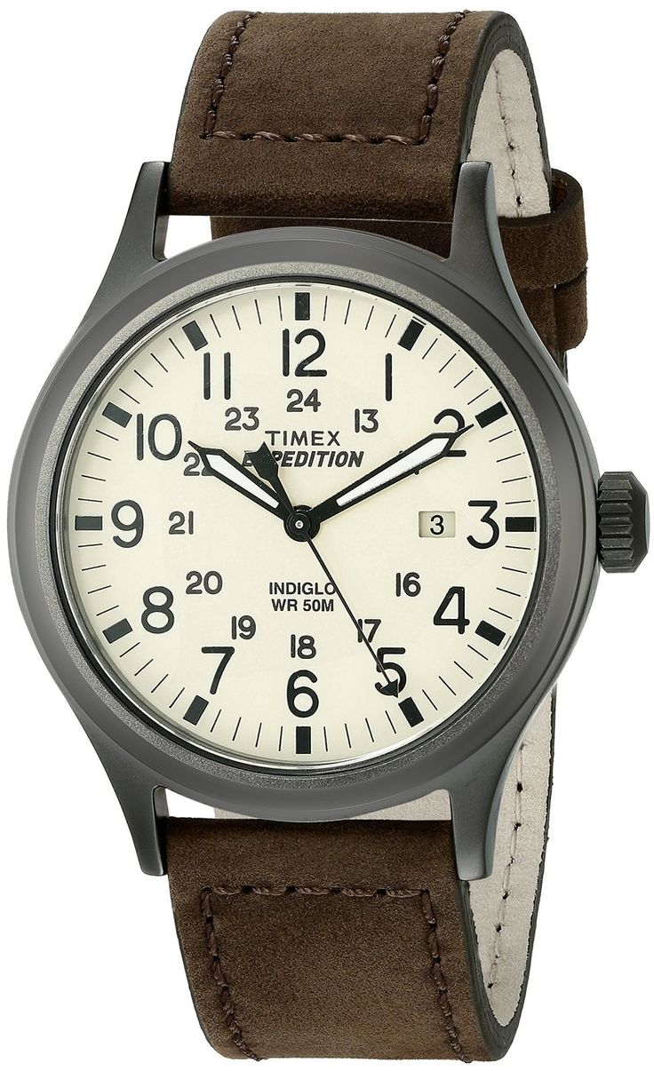 Best leather strap watches men images best ideas about watches for - Top 10 Best Men S Leather Watches In 2016 Reviews