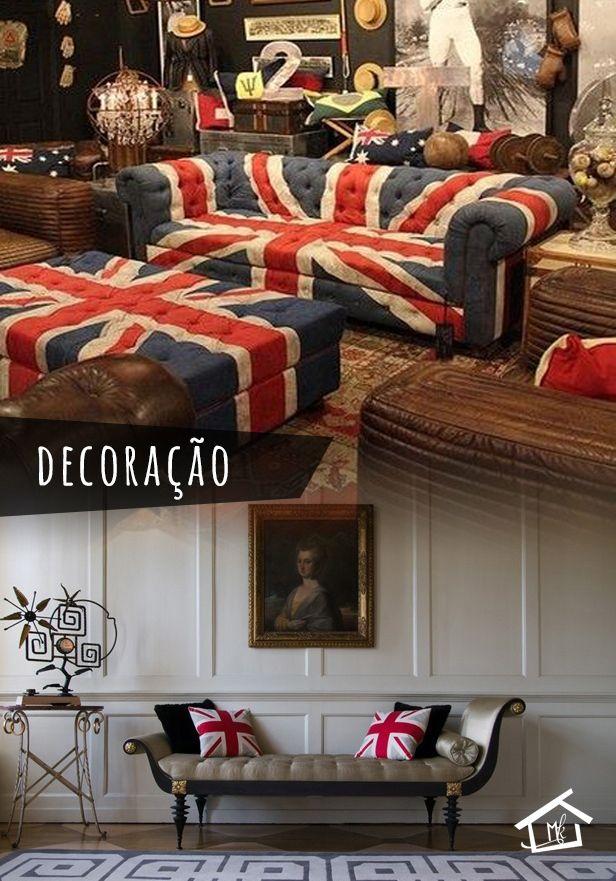 Quando pensamos em Inglaterra, logo nos vem a cabeça a cidade de LONDRES! Por esse motivo adolescente tem adotado totalmente a pátria de Londres nos seus aposentos! A decoração é totalmente moderna e despojada, combina muito com a geração atual! | http://montakasa.com/