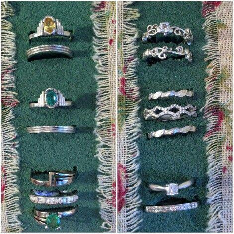 Handmade wedding and engagement  rings
