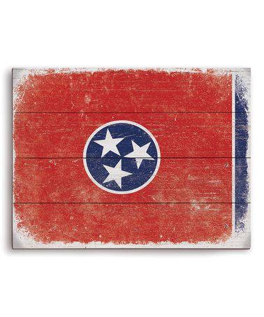 Tennessee Flag Wall Art #zulily #zulilyfinds