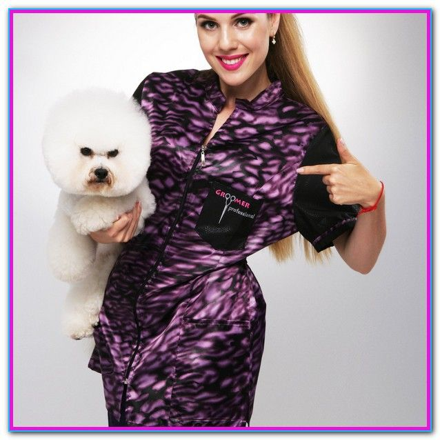 Stylish Dog Grooming Apparel Finally Quality Meets Fashion And Function With Our Grooming Apparel Designed G Stylish Dogs Dog Grooming Dog Grooming Salons