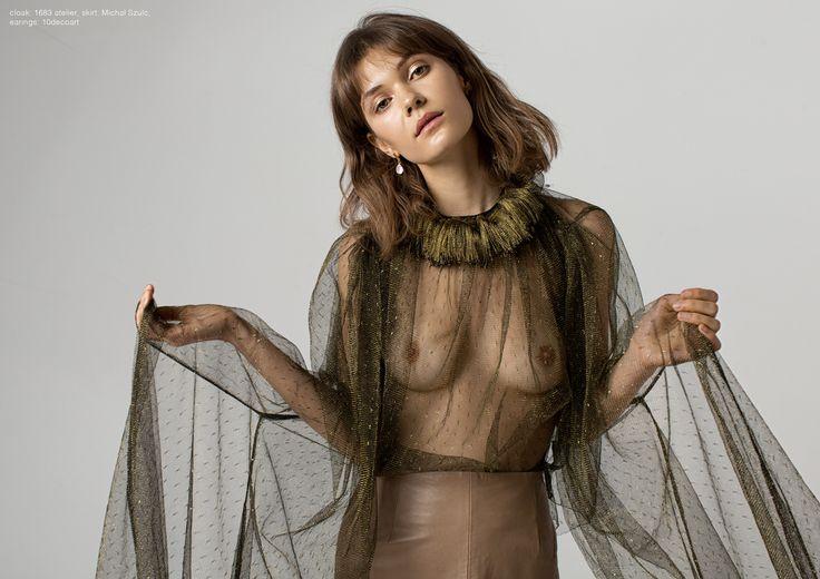 Photographer: Magdalena Czajka Makeup Artist/Hair Stylist: Patryk Nadolny Stylist: Karolina Ficner Female Model: Alex Szwałek @Rebel Models