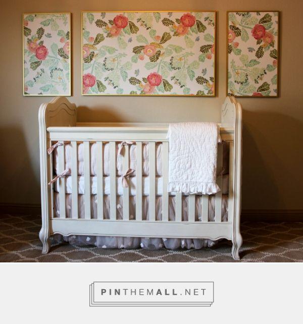 Floral Glam Nursery - Project Nursery - anthropologie vintage blush gold