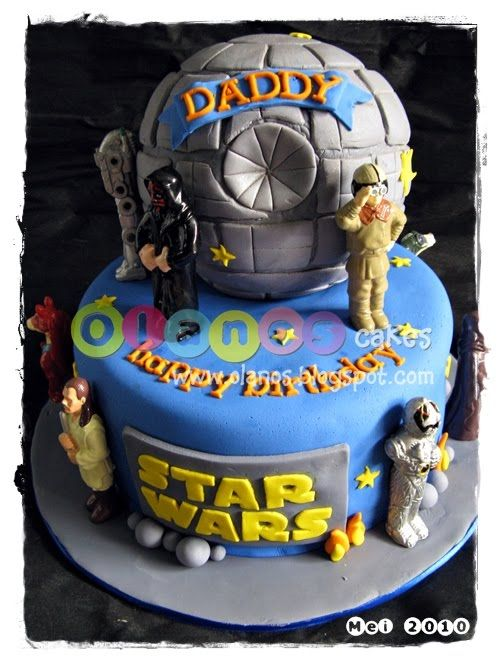 star wars kids cake