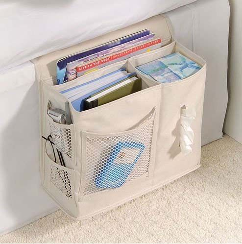 Bedside Caddy - Keep all your bedside items neatly organized.