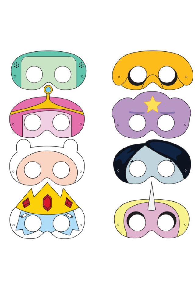 Adventure Time Masks