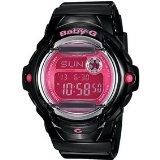 Review Casio G-shock BG169R-1B-CR Baby-G-Whale With Vivid Color BlackPink Watch Womens | Cheap G Shock Watches - http://www.cheapgshockwatches.net