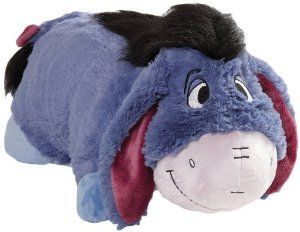 My Pillow Pets Authentic Disney Eeyore Folding Plush Pillow, 18-Inch  Order at http://amzn.com/dp/B008OQUTDK/?tag=trendjogja-20