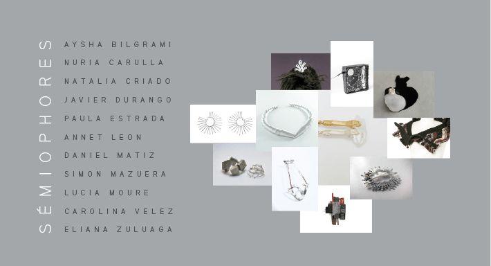 De La Mano, joyería, contemporánea, arte, art, contemporary, jewelry, jewellery, DLM, exposición, semiophores, aurora, espacio, Bogotá