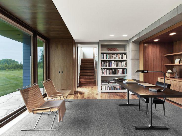gentle modern home office. BERKSHIRE MOUNTAIN HOUSE By Tsao \u0026 McKown Architects · Modern Office Gentle Home L