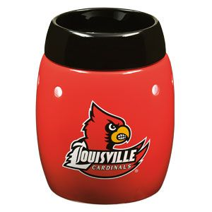 University of Louisville Scentsy Warmer.  Get ready for March Madness.  You can order this warmer on my website... www.karriekelley.scentsy.us