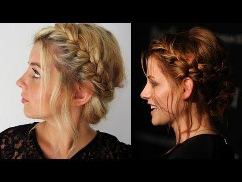 Kristen Stewart inspired Frisuren Freitag - YouTube