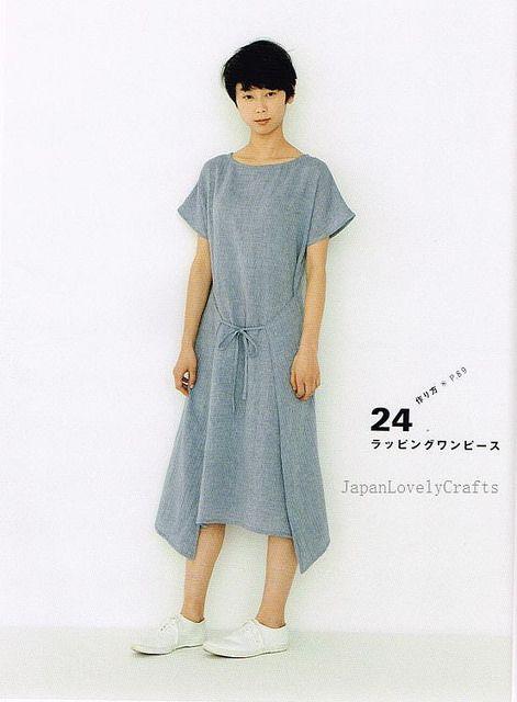 Apron  Apron Dress by Yoshiko Tsukiori - Straight Stitch Sewing - Japanese Pattern Book for Women Clothing - B1299-57 | Flickr - Photo Sharing!